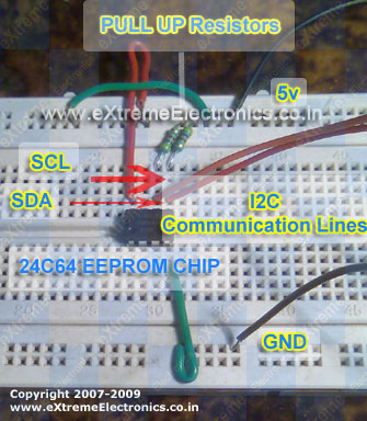 using 24c eeprom with avr  atmega32 chip