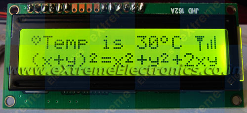 lcd library setup for avr mcu