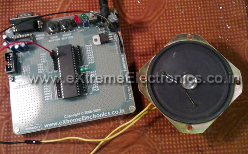 Sound Generation by AVR Micro - Tutorial I