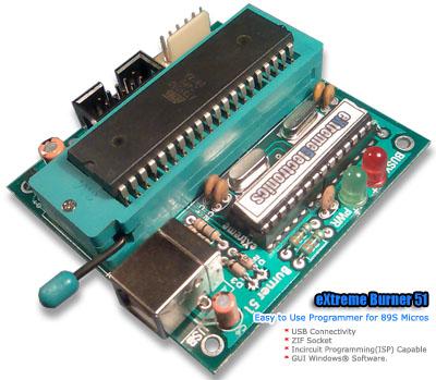 usb At89s52 programmer