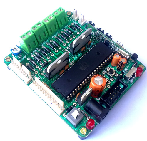 xBoard v2.0 : Advance Development Board For AVR ATmega32