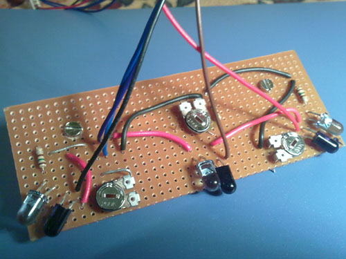 ir sensor board