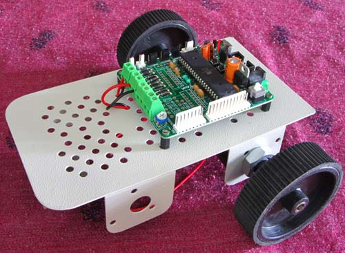 pc controlled robot