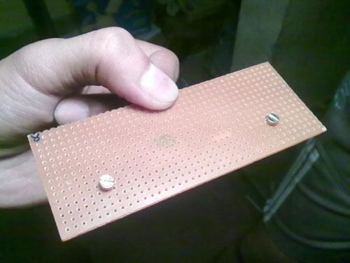 veroboard drilled